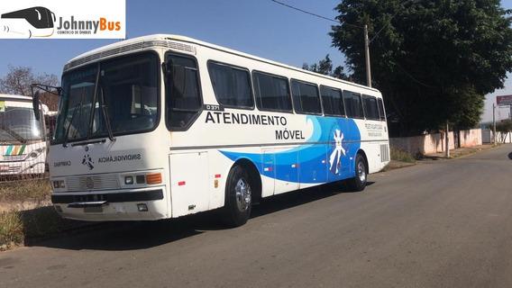 Ônibus P/ Motorhome Mercedes Benz O371rs Ano 1989 Johnnybus