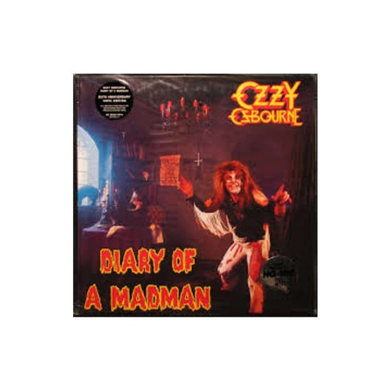 Osbourne Ozzy Diary Of A Madman Importado Lp Vinilo Nuevo