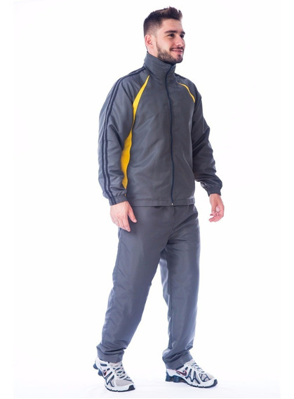 Agasalho Masculino Microfibra Calça E Blusa Forrado Conjunto