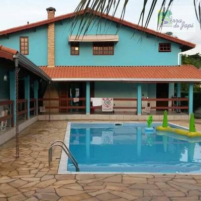 Itupeva - Lot. Horizonte Azul 1- At De 1000m2 Com 380m2 - 3 Dorms - Edicula, Piscina - Ch0132
