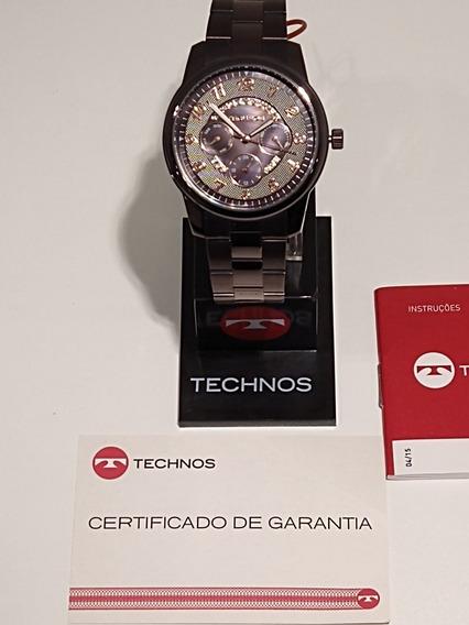 Relógio Technos Aço Inox 6p29je/1m