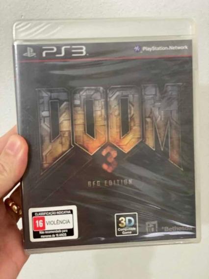 Doom 3 - Ps3 - Lacrado De Fábrica