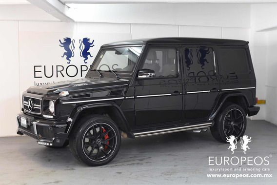 Mercedes-benz Clase G 63 Blindada Nivel 3