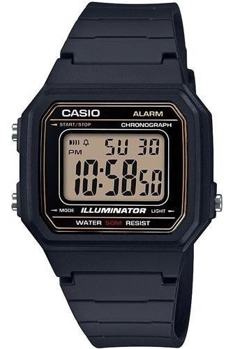 Relógio Digital Casio Masculino Pulseira De Silicone
