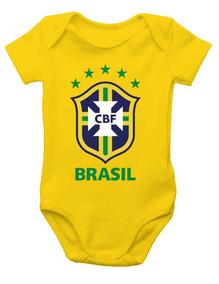 Body De Bebê - Brasil - Seleção Brasileira