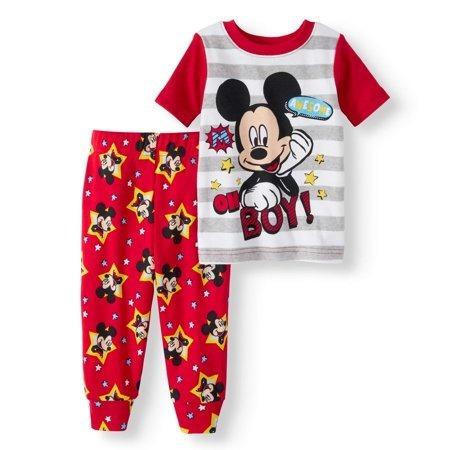 Pijama Mickey Bebe 100% Org Niña Recién Nacido