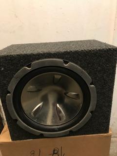 Amplificador + Subwoofer 6x9 + Caja Alfombrada