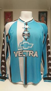 Camisa Futebol Kappa Gremio Ronaldinho Preparada Jogo