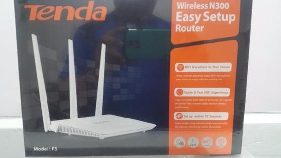Router Tres Antenas N300 Tenda F3 Nuevos Originales