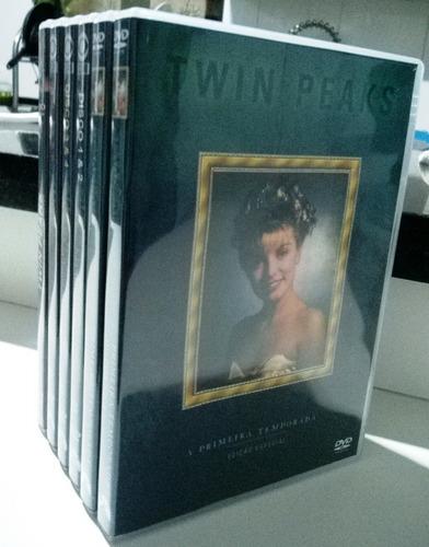 Imagem 1 de 10 de Box 11 Dvds Twin Peaks 1ª E 2ª Temporada + Filme Piloto