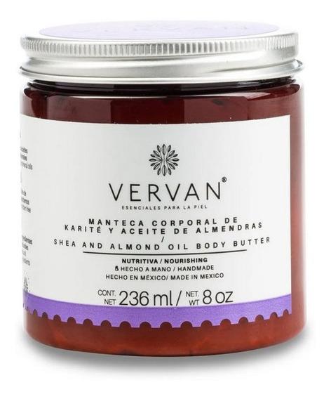 Vervan - Crema Corporal Karité Y Aceite De Almendras 236ml