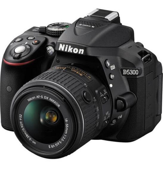 Câmera Nikon D5300 Lente 18-55 +64 Gb Class 10 + Bolsa