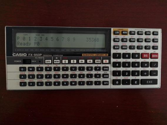 Calculadora Cientifica Casio Fx-850p,8 Kb,116 Librerias