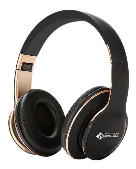 Fone Ouvido Headphone Sem Fio Cartão Sd Bluetooth Fm Sport