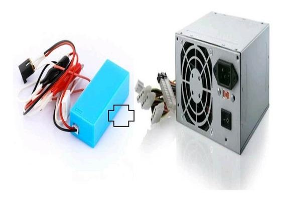 Kits De Inversor E Testador De Telas Lcd 12v+ Fonte Atx