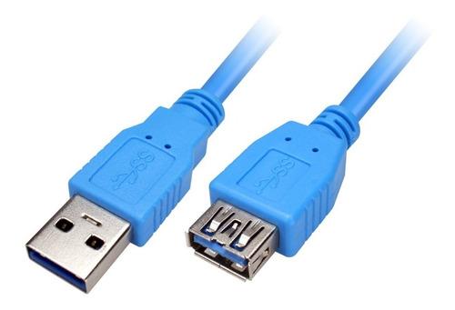 Cable De Extensión Usb 2.0 De 1.8 Metros Macho / Hembra