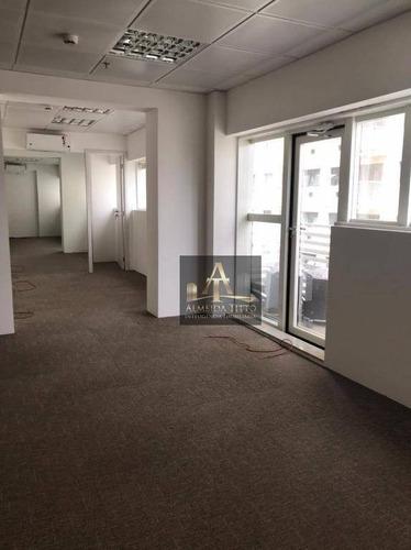 Excelente Sala Comercial Para Locação No Office Grajaú - Confira! - Sa0566