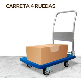 Zorra Carreta Pleg 4 Ruedas Ref Cap 300 Kg. Cuotas