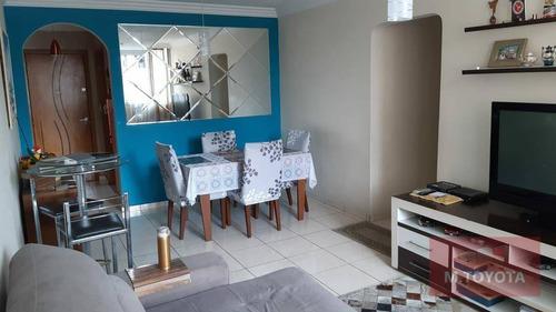 Imagem 1 de 12 de Apartamento Com 3 Dormitórios À Venda, 90 M² Por R$ 410.000,00 - Vila Augusta - Guarulhos/sp - Ap0087