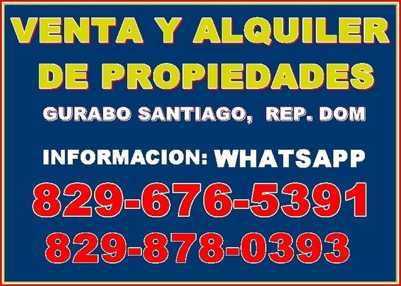 Venta Y Alquiler De Apartamentos En Gurabo, Santiago, Rd