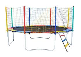 Cama Elástica 3,66m 4 Pés  Henri Trampolim Frete Gratis