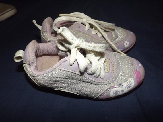 Zapatos Deportivos Kidy De Niña Talla 25
