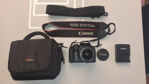 Canon Eos Rebel Xs Dslr + Lente 18-55mm + Case/bolsa