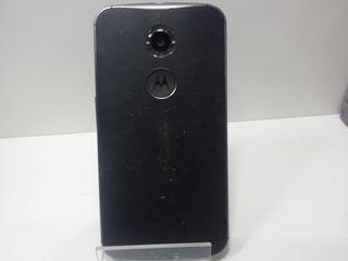 Celular Moto X2 Tela Trincada Não Carrega Bateria Sucata