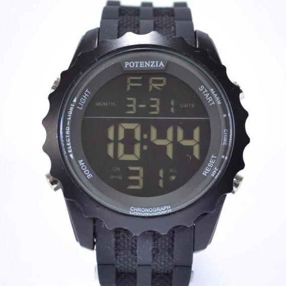 Relógio Masculino Digital Militar Potenzia Garantia