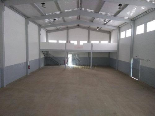Imagem 1 de 21 de Galpão Para Alugar, 1088 M² Por R$ 17.000,00/mês - Park Comercial De Indaiatuba - Indaiatuba/sp - Ga0073