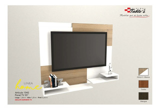 Mueble Para Tv Panel Flotante Led Hasta 60 Tables