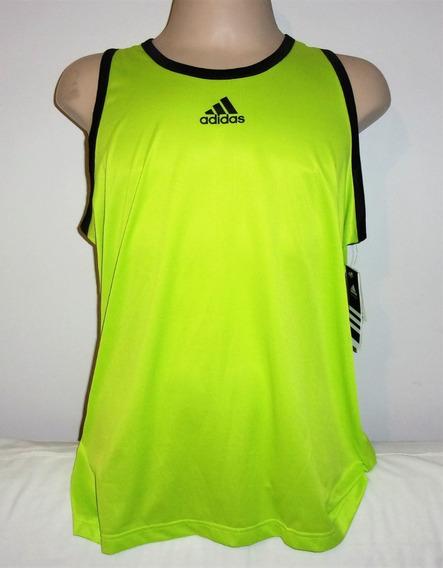adidas Camiseta Regata Masculina Poliester Original Xl Nova Importada