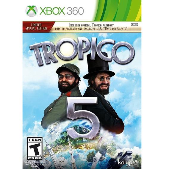 Jogo Xbox 360 Tropico 5 Limited Edition Original Lacrado