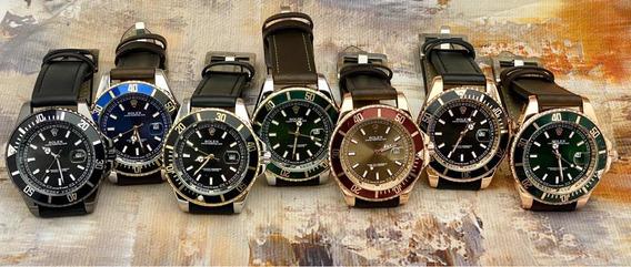 Reloj Para Caballero T Piel T Rolex Submariner