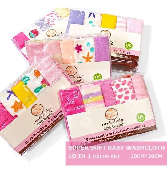 Set 10 Babitas Estampadas- Bebés Y Niños