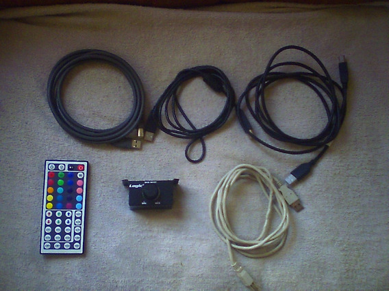 Cables Controlador Dj Hercules, Numark ,volume Logic Bajos