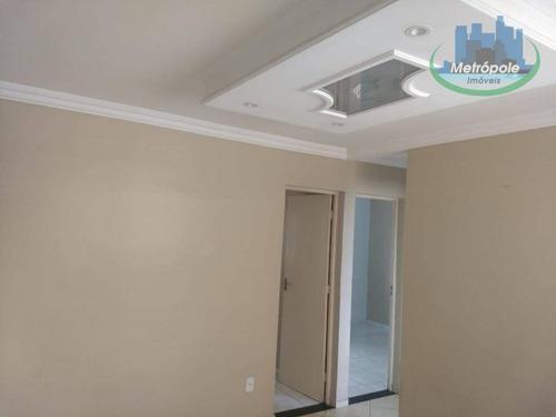 Apartamento Com 2 Dormitórios À Venda, 55 M² Por R$ 179.900 - Jardim Santo Expedito - Guarulhos/sp - Ap0935