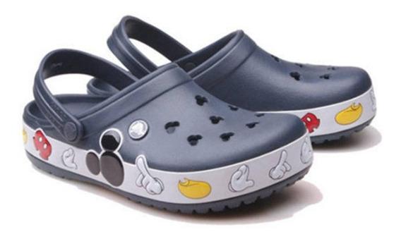 Crocs Unisex Crocband Mickey Clog Mule, 5 Us Men