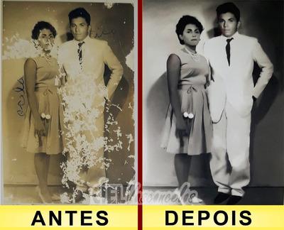 Restauração De Fotos Antigas E Edição De Imagens Em Geral