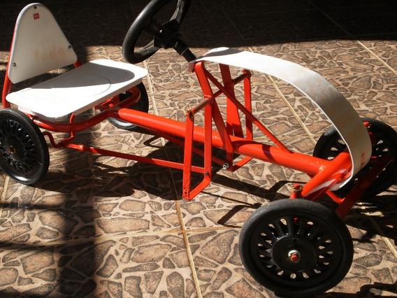 Antigo Pedal Car Bandeirantes, Baby Kart Topa Tudo