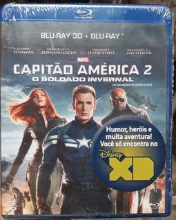Capitão América 2 - O Soldado Invernal - Blu-ray 3d+blu-ray