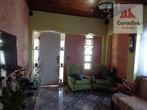 Imagem 1 de 21 de Casa Com 3 Dormitórios À Venda, 137 M² Por R$ 350.000 - Vila Cordenonsi - Americana/sp - Ca0604