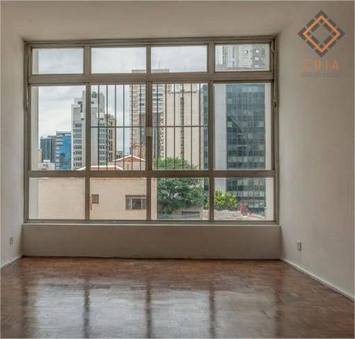 Imagem 1 de 17 de Apartamento Para Compra Com 2 Quartos, 1 Suite E 1 Vaga Localizado No Itaim Bibi - Ap52437
