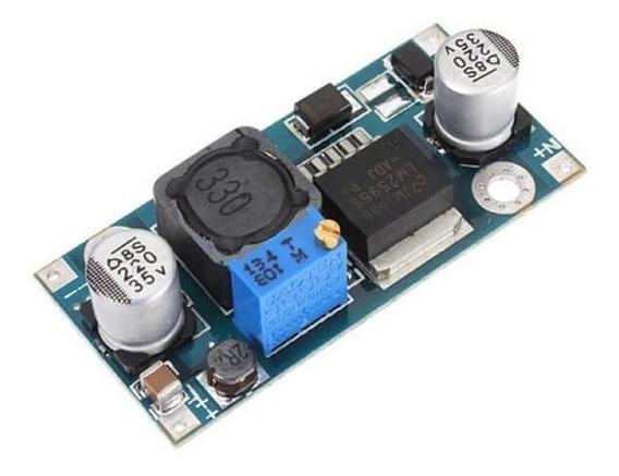 Regulador De Tensão Lm2596 Conversor Dc-dc Step Down Fonte