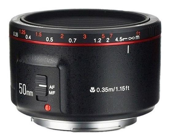 Lente Yongnuo Ef 50mm F/1.8 Ii Para Canon Nueva Version