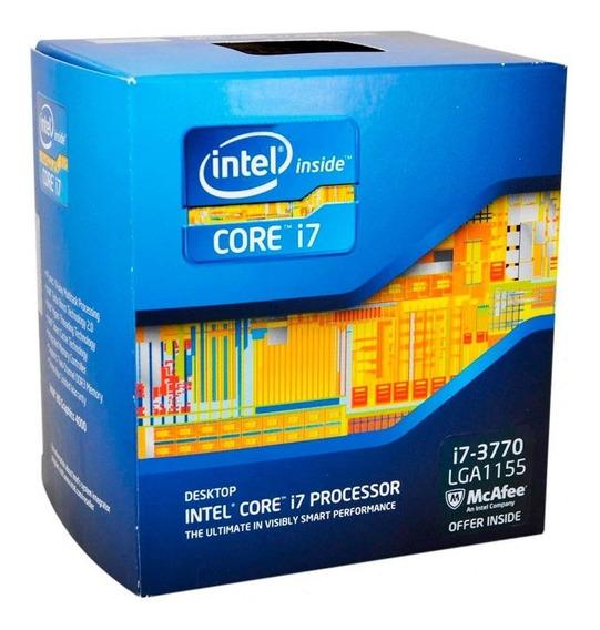 Processador Intel Core I7 3770, 3.4ghz Lga 1155 Com Cooler