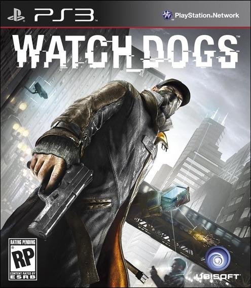 Jogo Ubisoft Novo Lacrado Watch Dogs Ps3 Original