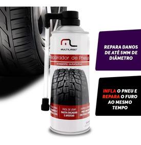 Spray Remenda Enche Pneu Na Hora Reparador Instantaneo