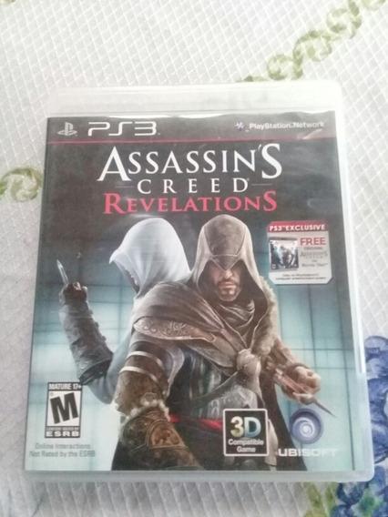 Assassins Creed Revelations Para Ps3 Completo E Conservado.