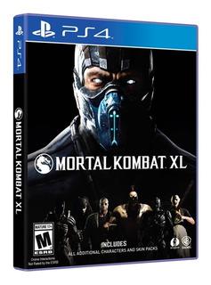 Mortal Kombat Xl Para Playstation 4 Ps4 Fisico Nuevo